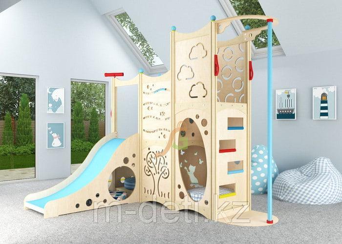 Игровой комплекс 8 с кроватью-чердаком