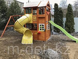 Детская площадка   Клубный домик 2 с трубой Luxe