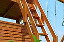 Детская площадка   Клубный домик 2 с трубой и рукоходом Luxe, фото 7