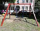 """Качельный модуль """"Гнездо"""" из дерева, фото 2"""