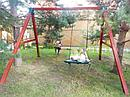 """Качельный модуль """"Гнездо"""" из дерева, фото 4"""