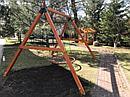 """Качельный модуль """"Гнездо"""" из дерева, фото 7"""