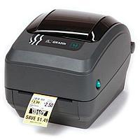 Принтер для печати этикеток термотрансферный Zebra GK420t
