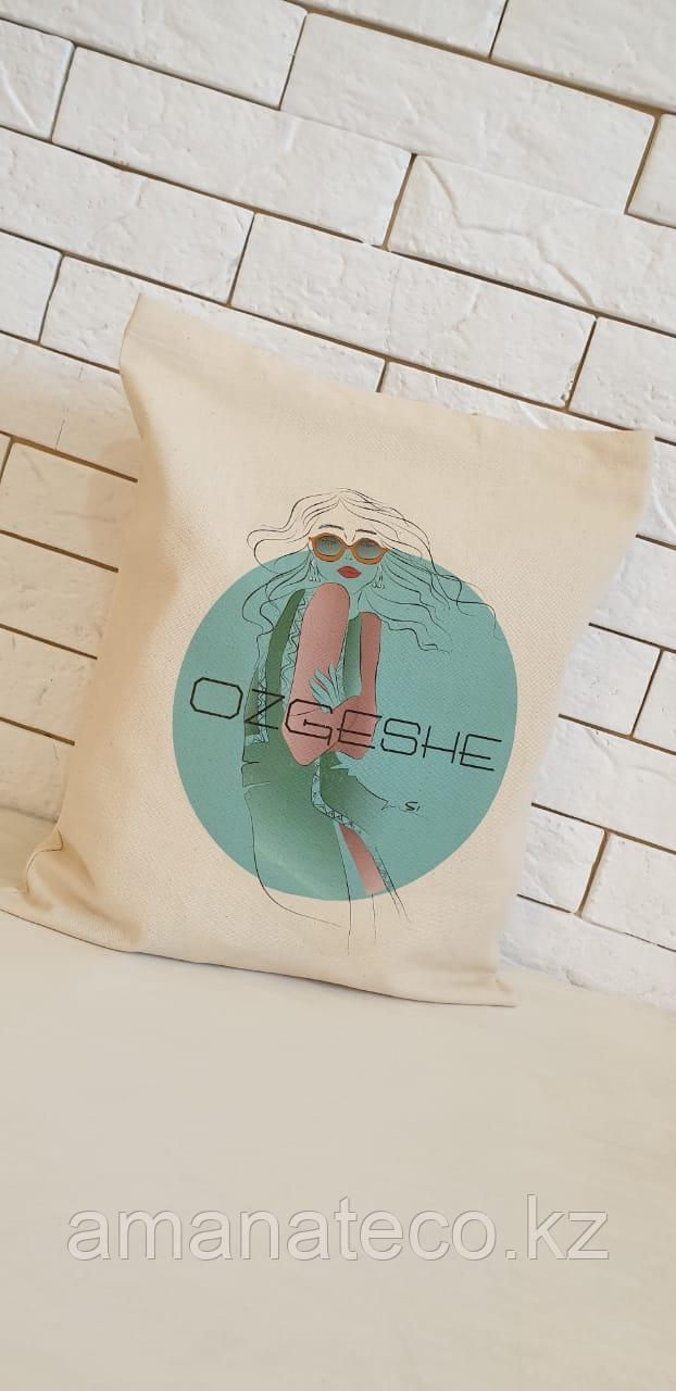 """Эко сумка """"Ozgeshe"""" - фото 2"""