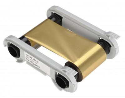 Лента монохромная Gold monochrome ribbon 1000 отпечатков Evolis RCT016NAA