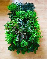 Фитостены из искусственных растений