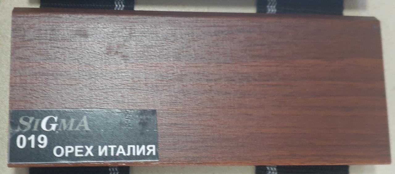 SIGMA: Мдф Плинтус - Орех Италия 019