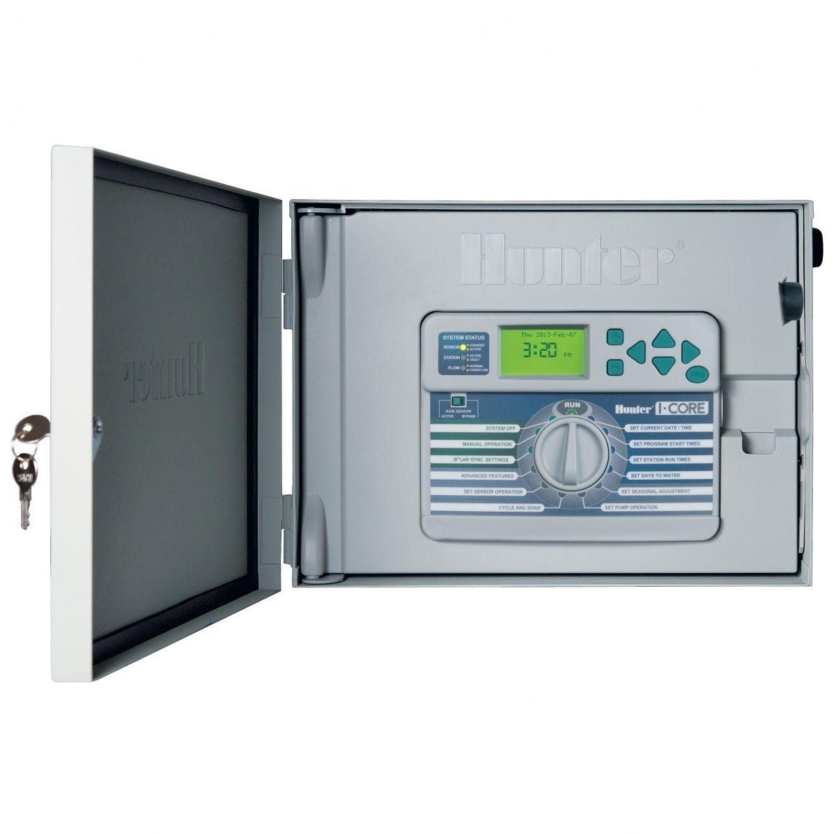 Hunter IC-600-SS = 6-станционный модульный контроллер полива серии I-CORE