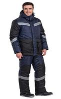 Костюм «Метеор» зимний не огнеупорный (Полукомбинезон + куртка) Winter jacket «Meteor» with semioveralls