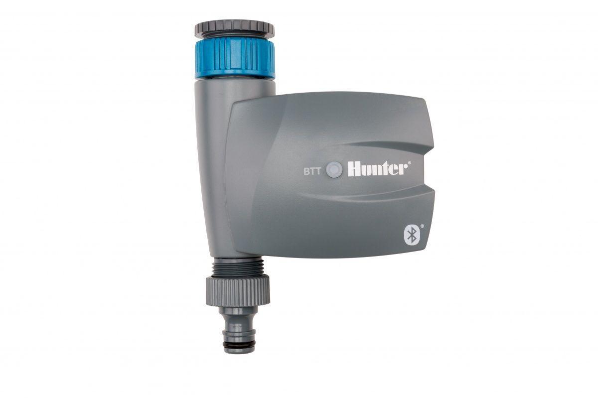 Hunter BTT-101 = 1-зонный таймер для крана с управлением по Bluetooth и переходником BTT-LOC