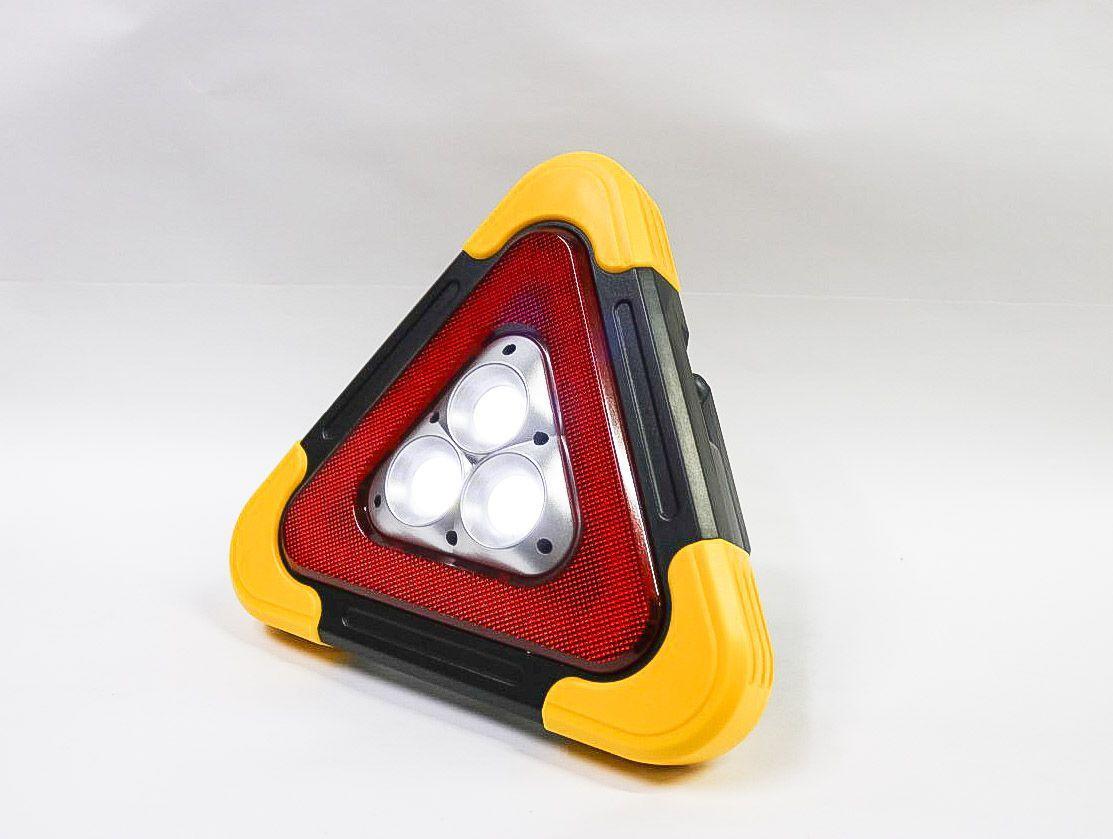 Аварийный знак с фонарем