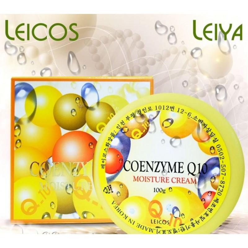 Увлажняющий крем Leiya Cream Q10 для лица и шеи 100 мл