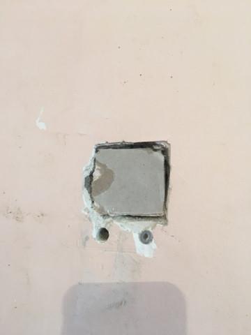 Зашпаклевали дыру в стене масленно клеевой шпаклевкой