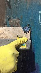 Очистка металлической поверхности от старой краски 1