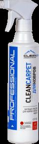 CLEANCARPET - средство для чистки ковров и мягкой мебели. 500 мл.,1 литр и 5 литров. РК