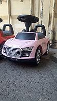 Детская каталка толокар Audi розовая, фото 1