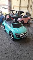 Детская каталка толокар Mercedes бирюзовый, фото 1