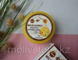 Крем Diamond Milk Honey Moisture Treatment Cream 100 мл