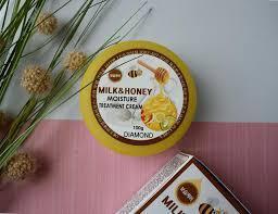 Крем Diamond Milk Honey Moisture Treatment Cream 100 мл