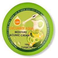 Увлажняющий крем с экстрактом огурца Diamond cucumber aqua moisture clinic cream100 мл