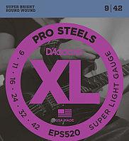 Струны для электрогитары D'Addario EPS520