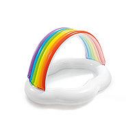 Детский надувной бассейн Rainbow Cloud 142 x 119 х 84 см INTEX 57141NP