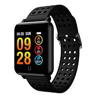 Смарт часы M19 фитнес-браслет (черный)