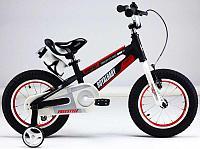 """Велосипед двухколесный SPACE NO.1 ALLOY 16"""" Черный ROYAL BABY"""