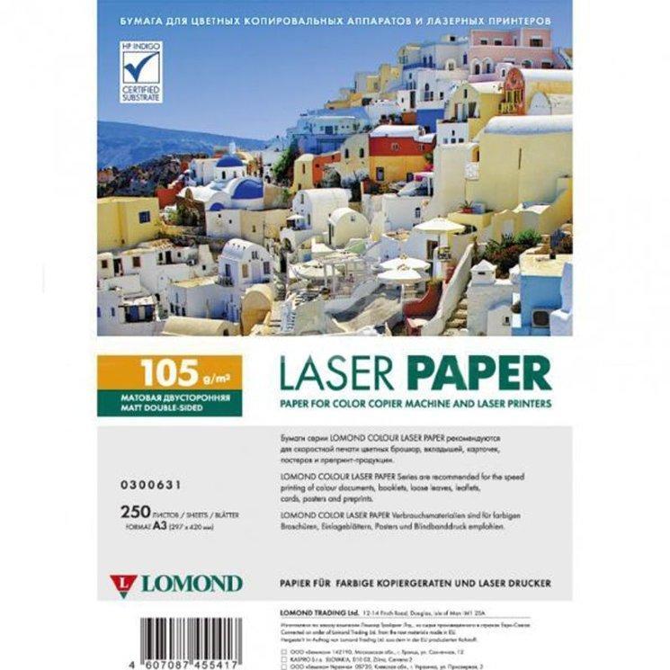 Бумага LOMOND для лазерной печати(А3/250/105г)