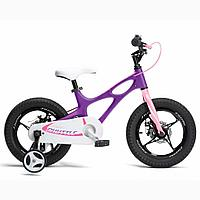 "Велосипед двухколесный SPACE SHUTTLE 16"" Пурпур ROYAL BABY"