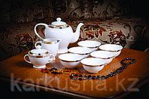 Золотая веточка чайный сервиз с пиалами