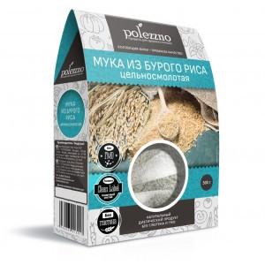 Мука из бурого риса,500 гр