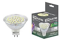 TDM Лампа LED MR16-5 Вт-12 В -3000 К–GU 5,3