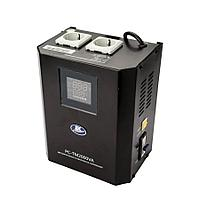 Стабилизатор напряжения ЭК Power PC-TM 2000VA Наст. (Эл) черный