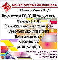 Регистрация предприятий в Казахстане
