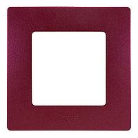 Рамка 1п Legrand Etika 672561, фиолетовый, фото 1