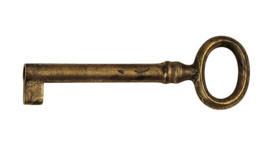 Ключ универс., *Empire* 30х87мм, L=53мм, тип N, латунь пат.