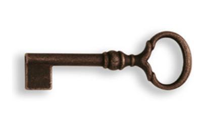 Ключ универс., *Rustic Style* 29х75мм, L=35мм, тип R, ржавое железо