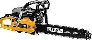 STEHER пила цепная бензиновая BS-58-45, 58 см3, 450 мм, 2.6 кВт