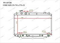 Радиатор охлождения GERAT TOYOTA RAV4 2.0 1AZFE 00-05 АКПП
