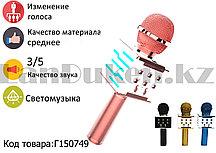 Беспроводной Bluetooth караоке-микрофон с USB входом  (с изменением голоса) в ассортименте