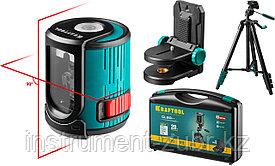 Нивелир лазерный 20 #4, 20 м, IP54, точность +/-0,2 мм/м, держатель, штатив, в кейcе