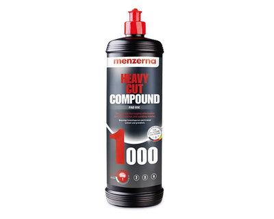 Heavy Cut Compound 1000 (PG1000) Высокоабразивная полировальная паста MENZERNA 1кг