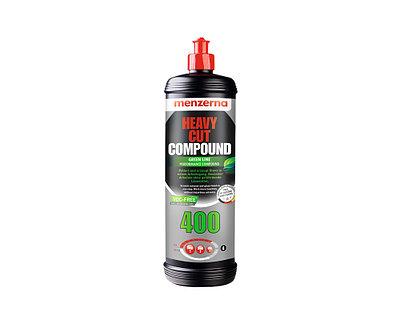 Heavy Cut Compound 400 GREEN LINE Одношаговая полировальная паста  MENZERNA 1 кг