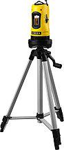Нивелир лазерный линейный STAYER SLL-1, 10м, точность +/-0,5 мм/м,  штатив, кейс