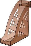 Лоток вертикальный ТОРНАДО тонированный коричневый ЛТ405 СТАММ