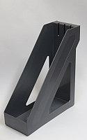 Лоток вертикальный БАЗИС серый металлик ЛТ33