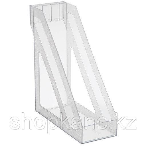 Лоток вертикальный прозрачный  ЛТ34 БАЗИС