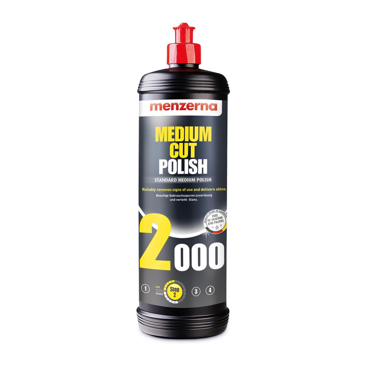 Medium Cut Polish 2000 Среднеабразивная полировальная паста Menzerna 1кг