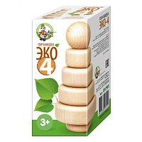 Деревянная пирамидка «Эко-4»